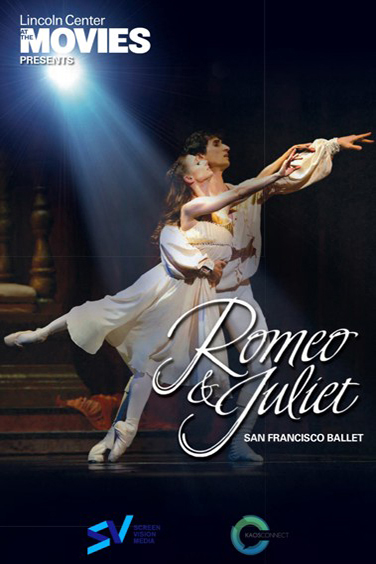 Lincoln Center's Romeo & Juliet Poster