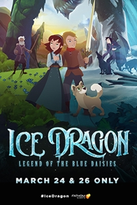 Poster of Ice Dragon: Legend of the Blue Daisies