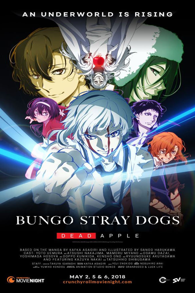Bungo Stray Dogs : DEAD APPLE