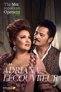 Poster of The Metropolitan Opera: Adriana Lecou...
