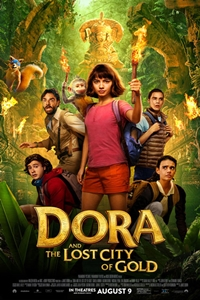Caption Poster for Dora and the Lost City of Gold