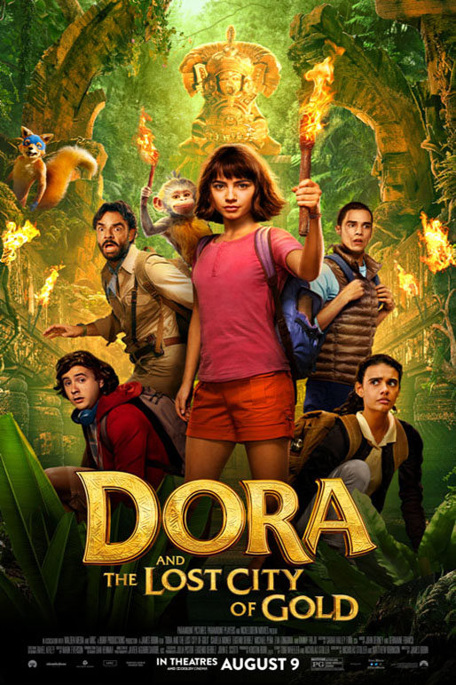 Dora and the Lost City of GoldPoster