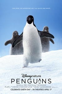 Poster for Penguins- Disney Nature