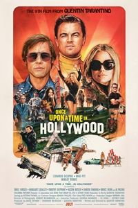 Poster for Once Upon a Time...in Hollywood
