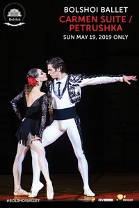 Poster for Bolshoi Ballet: Carmen Suite / Petrushka
