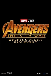 Poster of Opening Night Fan Event - Avengers: Infinity War in RealD 3D