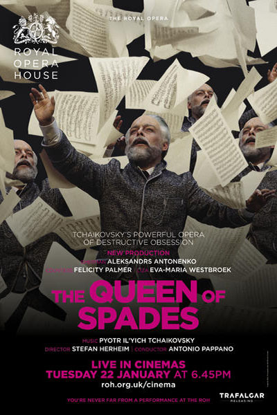 ROH 2018-19 Season Queen of spades Poster