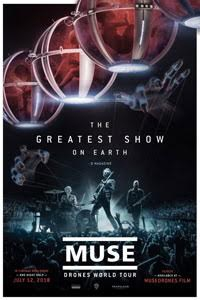 Poster for Muse - Drones World Tour