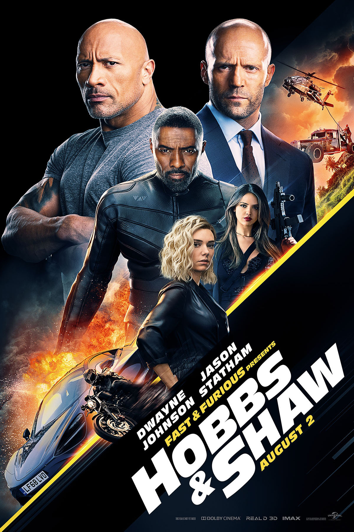 Hobbs and Shaw Fast and Furious Presents Poster