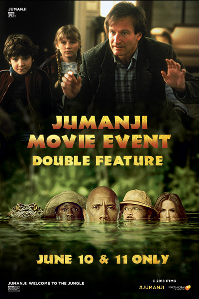 Jumanji Movie Event Poster