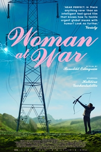 Poster for Woman at War (Kona fer i stria)