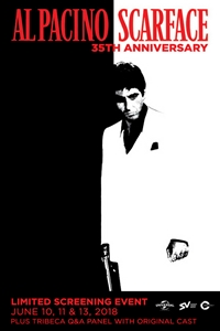 Poster of Scarface 35th Anniversary