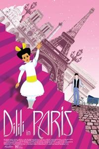 Dilili en París Poster