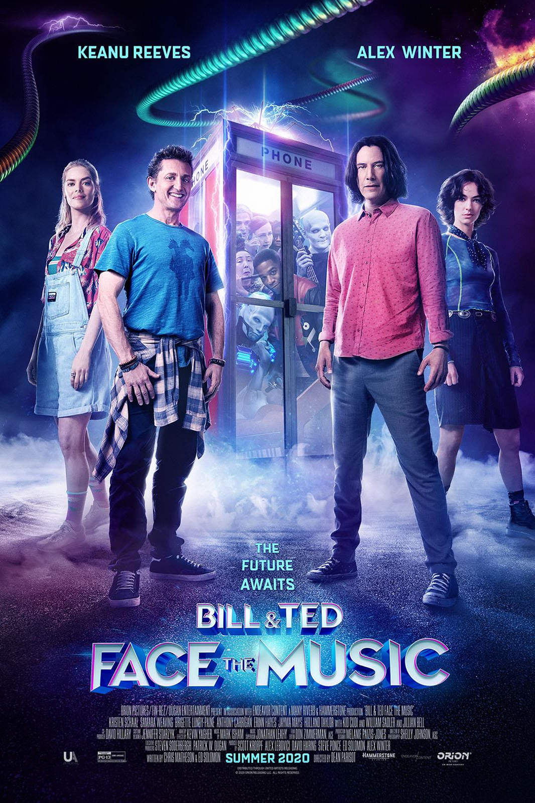 Poster of Bill & Ted Face The Music