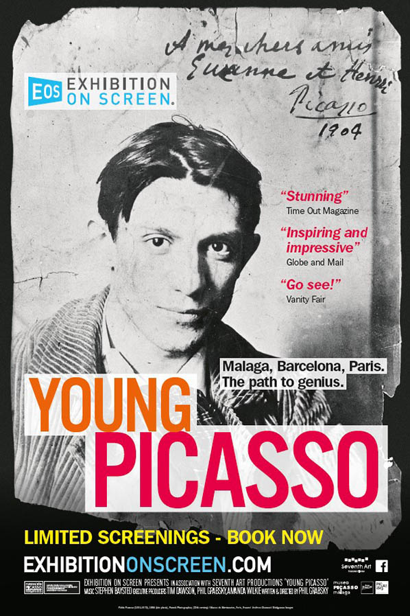 EXHIBITION ON SCREEN: Season 6; Young Picasso Poster