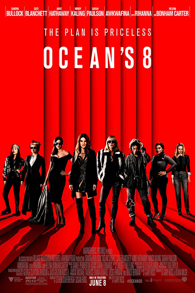 Ocean's Eight IMAX Poster