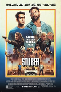 Caption Poster for Stuber