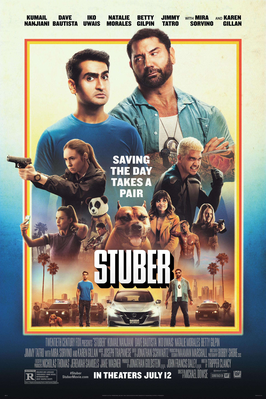 Stuber, locos al volante Poster