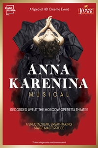 Poster for Anna Karenina. Musical
