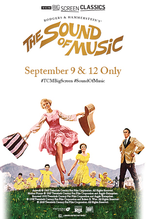 TCM Presents: The Sound Of Music Poster
