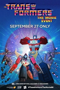 Transformers (1986) Movie Event, The