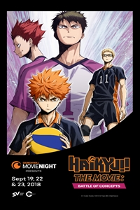 Poster for Haikyu!! The Movie: Battle of Concepts
