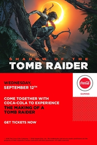 Poster for Making of a Tomb Raider presented by Coca-Cola, The