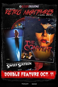 Poster for Bloody Disgusting Presents Sweet Sixteen and the Convent