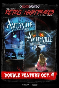 Poster for Bloody Disgusting Presents Amityville Double Feature
