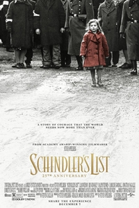 Poster for Schindler's List 25th Anniversary