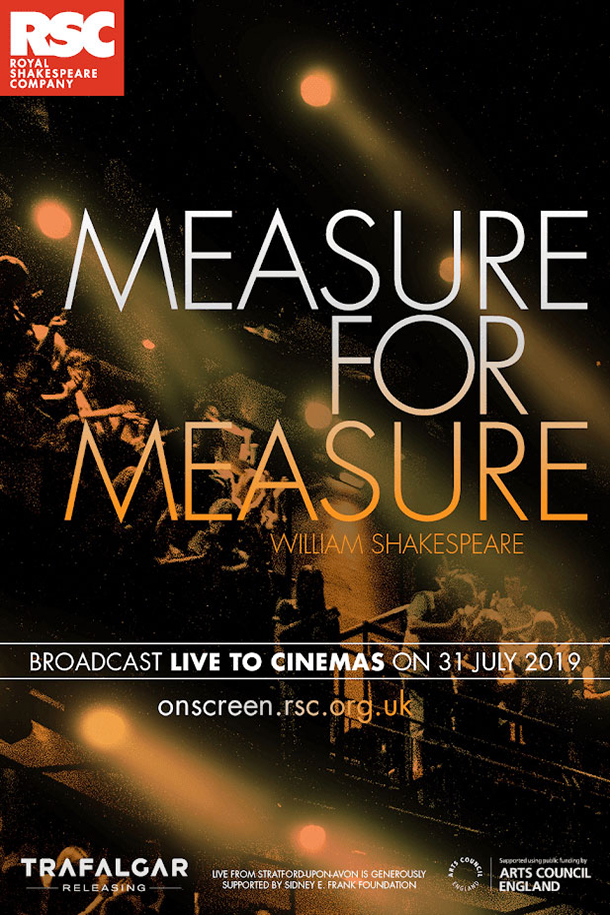 RSC Live: Measure for Measure Poster
