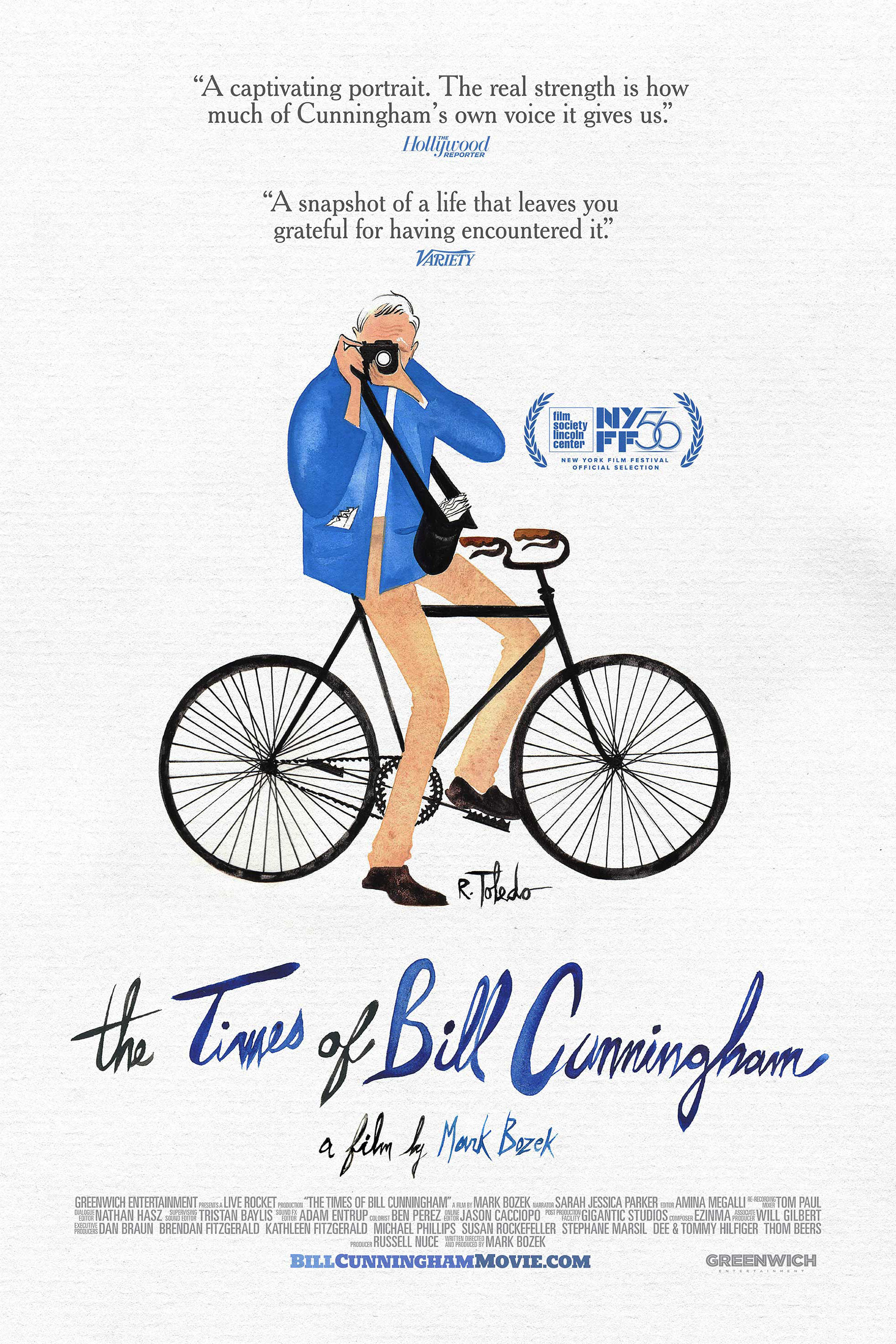 Poster for The Times of Bill Cunningham