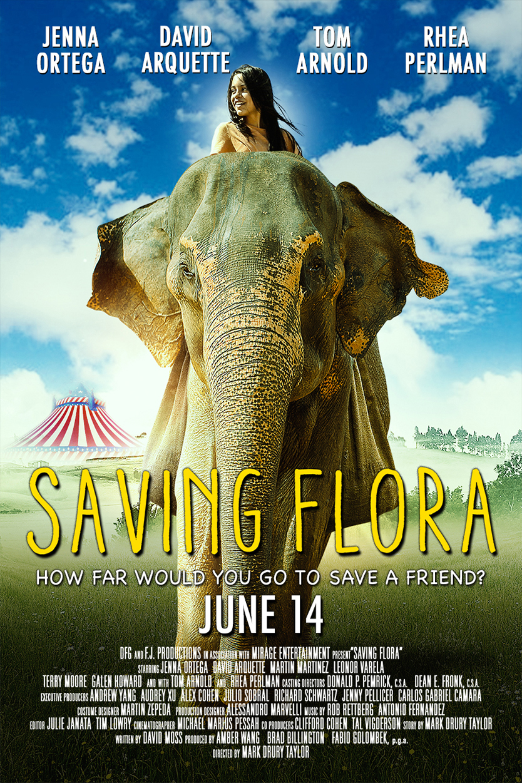 Saving Flora Poster