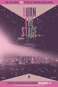Poster for Burn the Stage: The Movie