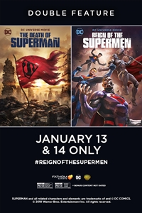 Poster of Death of Superman / Reign of the Supe...