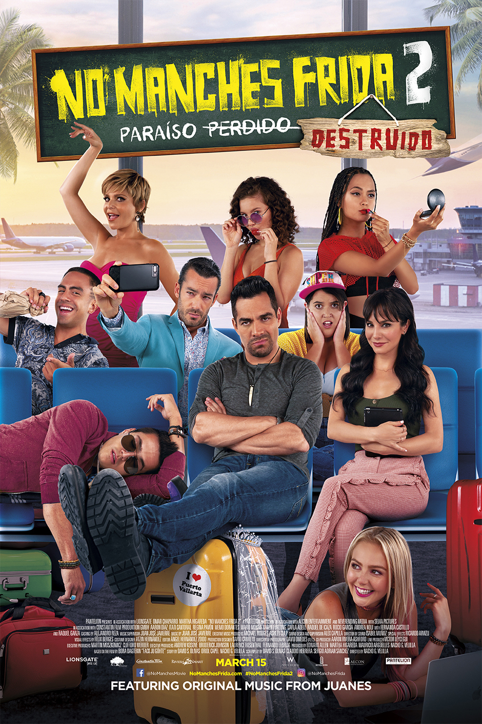 No Manches Frida 2 Poster