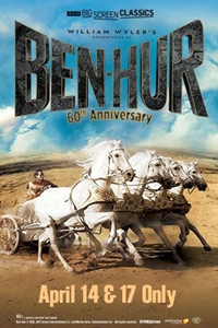 Poster of Ben-Hur 60th Anniversary (1959) presented by TCM