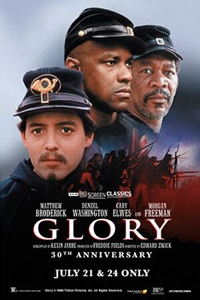 Poster of Glory 30th Anniversary (1989) presented by TCM