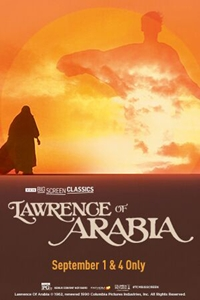 Poster of Lawrence of Arabia (1962) presented b...
