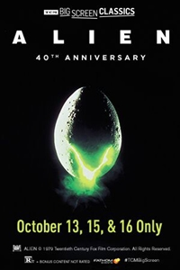 Poster of Alien 40th Anniversary (1979) presented by TCM