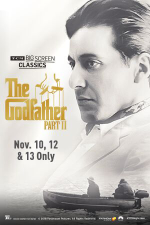 The Godfather: Part II 45th Anniversary (1974) TCM Poster