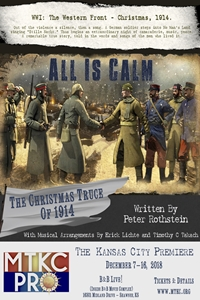 Poster for MTKC Pro - All is Calm: The Christmas Truce of 1914