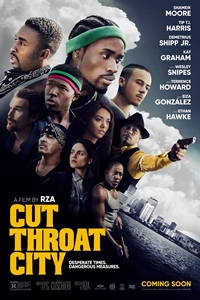 Cut Throat City Poster