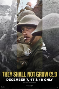 Poster for They Shall Not Grow Old 3D