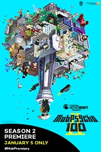 Poster for Mob Psycho 100 Season 2 Premiere