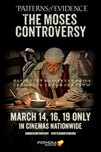 Poster of Patterns of Evidence: Moses Controver...
