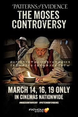 Patterns of Evidence: Moses Controversy Poster
