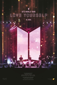 Poster of BTS World Tour Love Yourself in Seoul...