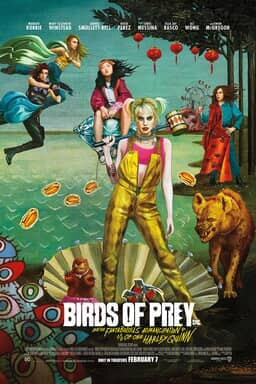 Poster of Birds of Prey (And the Fantabulous Emancipation of