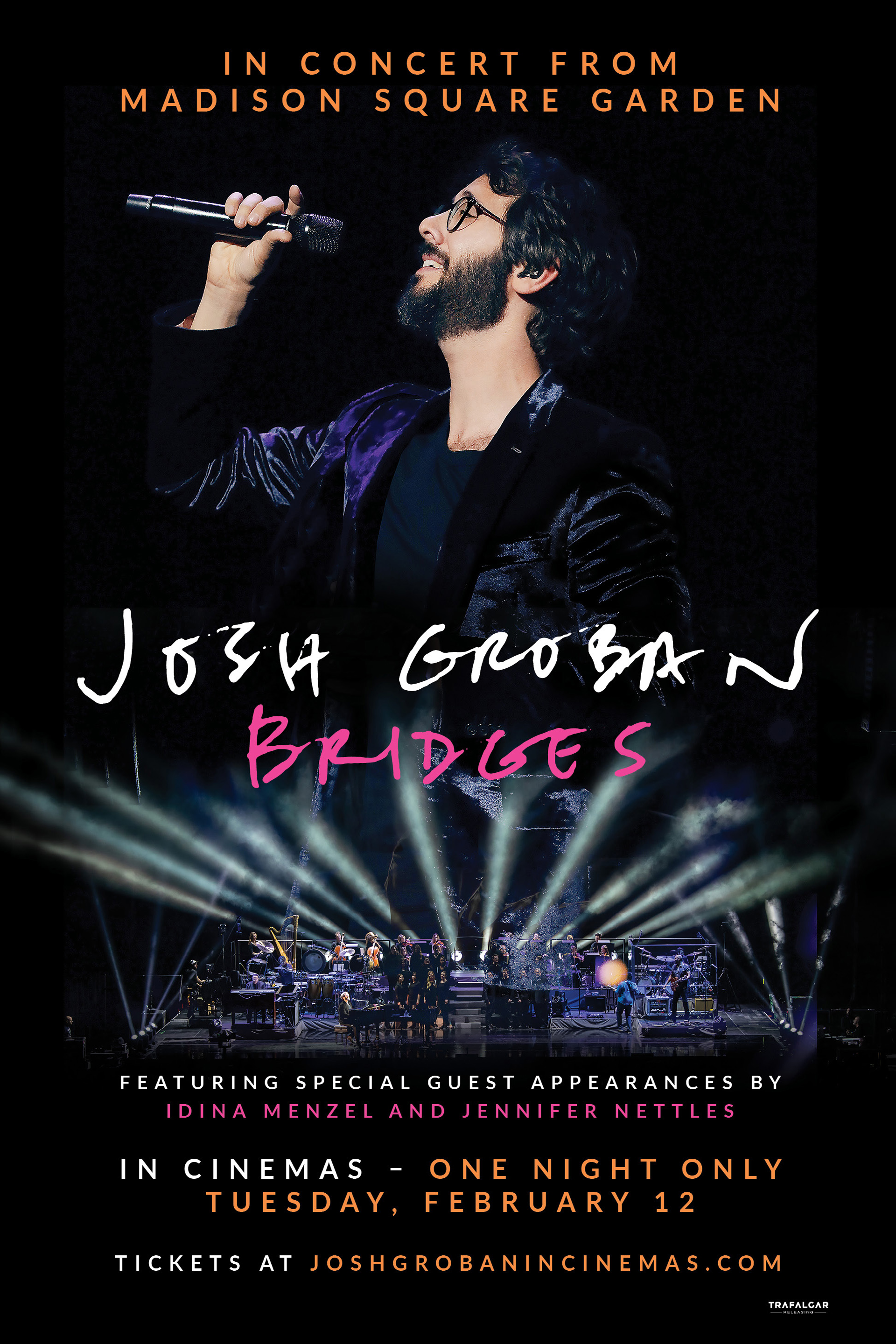 Josh Groban From Madison Square Garden Poster